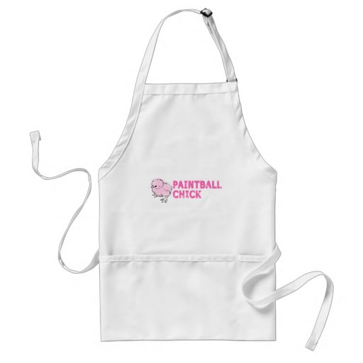 Paintball Chick Aprons