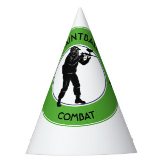 Paintball Combat Party Hat