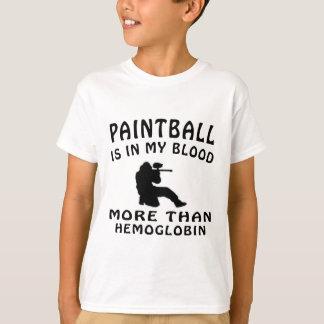 Paintball Design T-Shirt