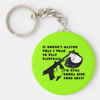 Paintball Equipment Key Ring