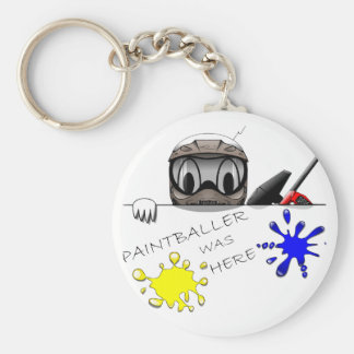 Paintball Gear Key Ring