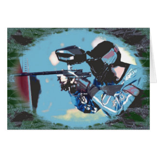 Paintball Greeting Cards