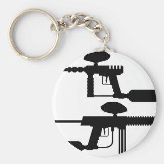 Paintball Gun Key Ring
