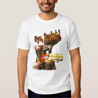 Paintball Gunner Die Sucker Tee Shirts