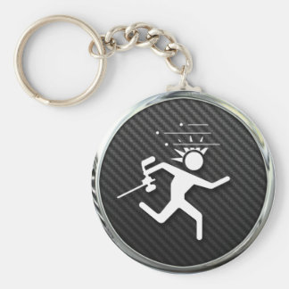 Paintball Icon Key Ring