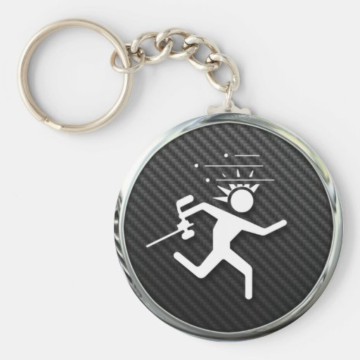 Paintball Icon Key Chain
