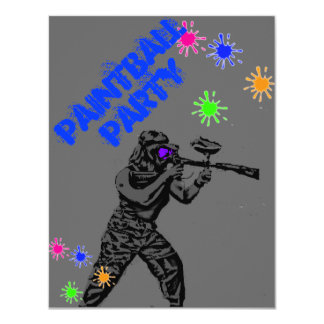 paintball invite1 card