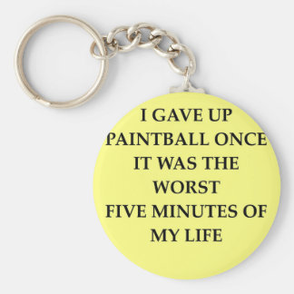 PAINTBALL.jpg Basic Round Button Key Ring