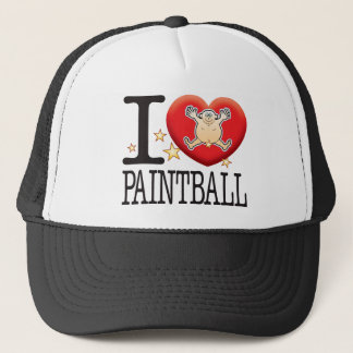 Paintball Love Man Trucker Hat