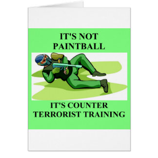 paintball player card