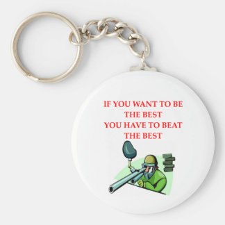 paintball png keychain