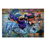 Paintball print- large poster