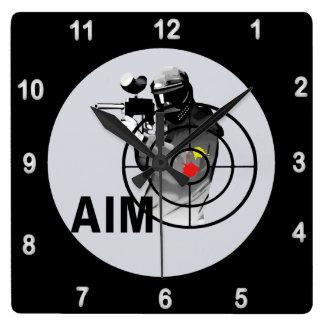 Paintball Shooter AIM Clocks