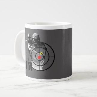 Paintball Shooter - Aim Giant Coffee Mug