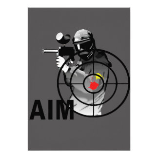 Paintball Shooter - Aim Invite