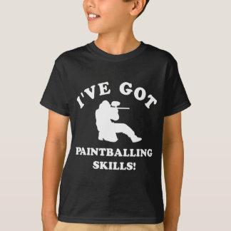 paintball skill gift items T-Shirt