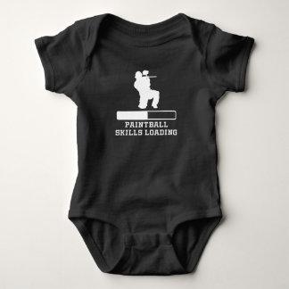 Paintball Skills Loading Baby Bodysuit