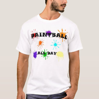 Paintball splat T-Shirt
