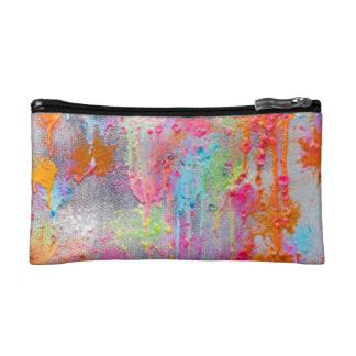 Paintball Splatter Cosmetic Bag