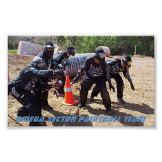 Paintball: Team Omega Sector Poster