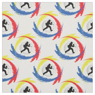 Paintball Tricolor Sport Emblem Fabric