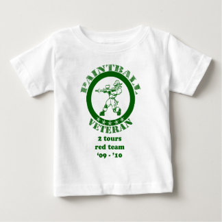 Paintball Veteran Baby T-Shirt