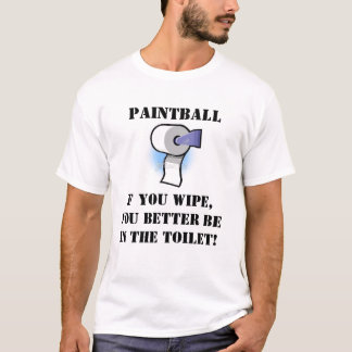 Paintball Wipe T-Shirt