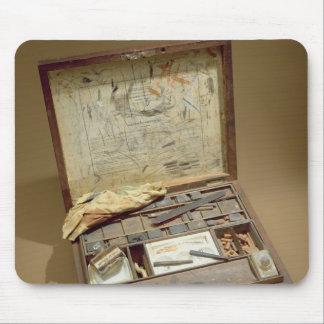 Paintbox of John James Audubon Mouse Mat