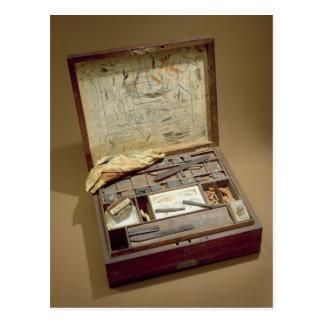 Paintbox of John James Audubon Postcard