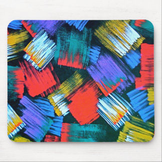 Paintbrush Abstract Mousepad