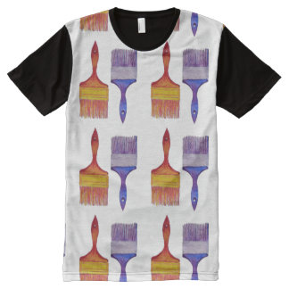 paintbrush painting t-shirt All-Over print T-Shirt