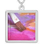 Paintbrush Personalised Necklace