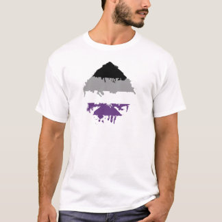 Paintdrip Asexual Ace T-Shirt