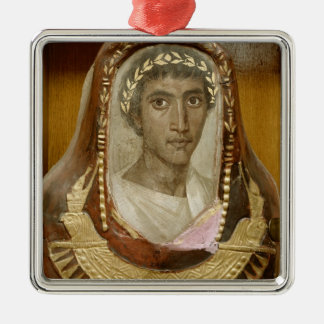 Painted and gilded mummy case of Artemidorus Christmas Ornament