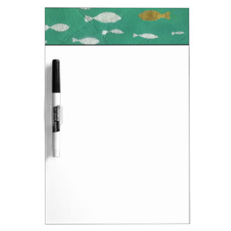 Painted Background Dry Erase Board