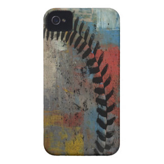 painted baseball case for iphone