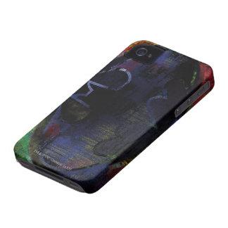 Painted Bat Symbol iPhone 4 Covers