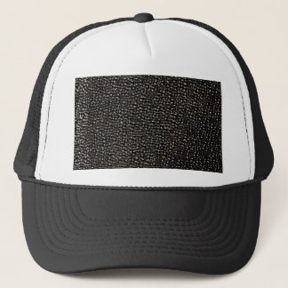 Painted black gems trucker hat