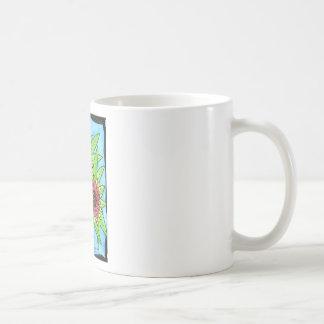 Painted Blanket Flowers Basic White Mug