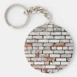 Painted Brick Key Chain