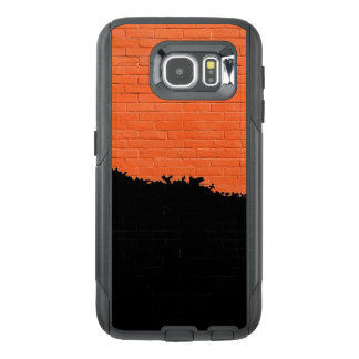 Painted Brick Wall OtterBox Samsung Galaxy S6 Case