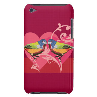 painted bunting birds barely there iPod covers