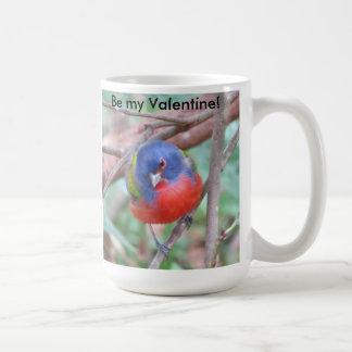 Painted Bunting Valentine's Day Mug