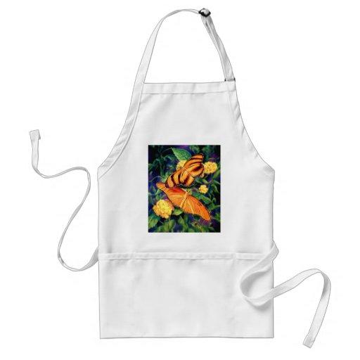Painted Butterflies Apron