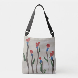 Painted by an elephant... crossbody bag
