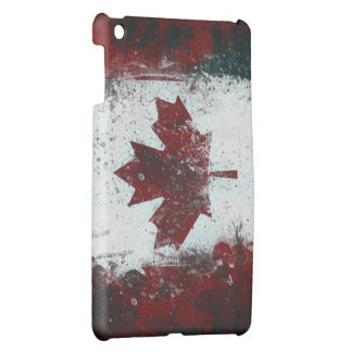 Painted Canadian Flag Cover For The iPad Mini