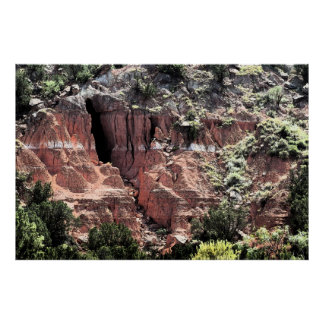 Painted Canyon Art Poster -60x40 -other sizes also