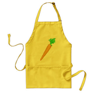 Painted Carrot Standard Apron
