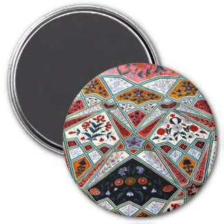 Painted Ceiling 7.5 Cm Round Magnet