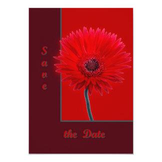 Painted Daisy 13 Cm X 18 Cm Invitation Card